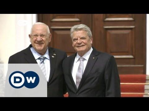 El presidente israelí Reuven Rivlin visita Alemania
