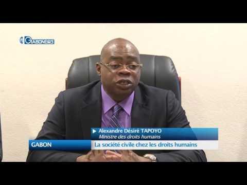 GABON : La société civile chez les droits humains