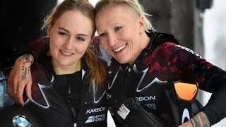 Kaillie Humphries' gold-medal-winning race in Altenberg | CBC Sports