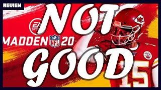 Madden NFL 20 is NOT GOOD - Review