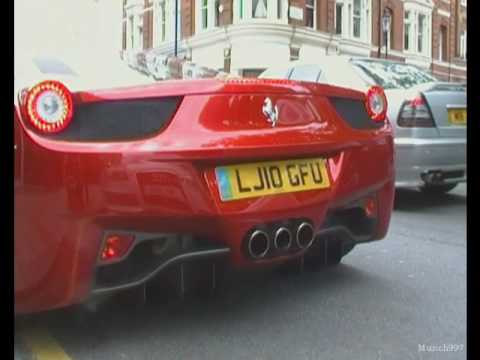 Ferrari 458 Italia Start-Up and Full Throttle!!!