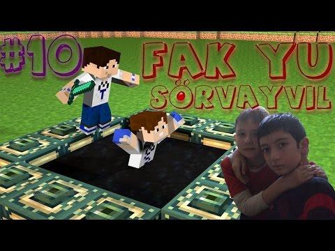 Minecraft Fak Yu Sörvayvıl #10 - Atlara isim Takmaca :D
