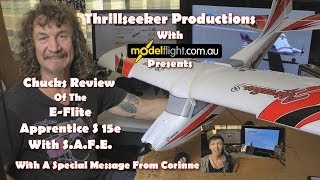 E-Flite Apprentice S 15e So You Want To Learn To Fly The Review