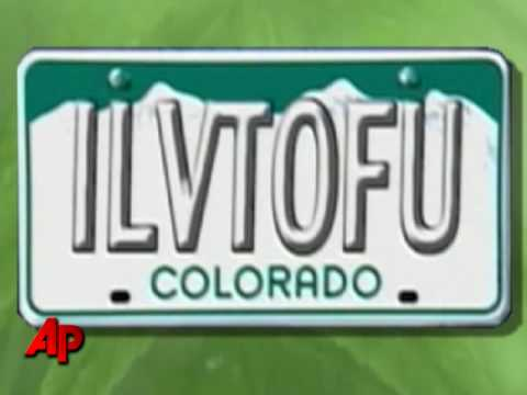 Colorado Bans Woman s  Tofu  License Plate