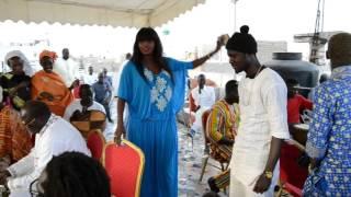 Le show de Ndeye Gueye au baptême de Djidiak