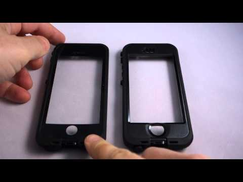 Lifeproof Fre for iPhone 5S vs Lifeproof Nuud for iPhone 5S