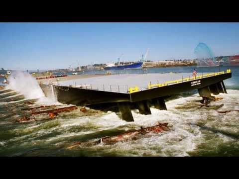 Gunderson Marine Barge Launches 2008 - 2013