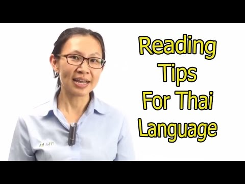 99 – Learn Thai Language with MTL School in Bangkok : Reading tips for Thai Language