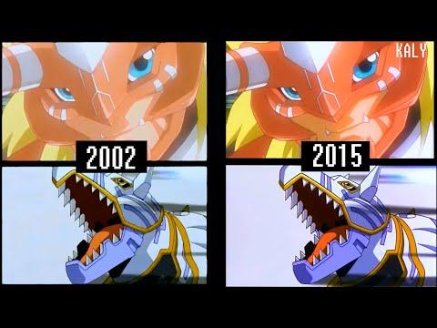 Digimon Frontier: Revival of the Ancient Digimon - comparación
