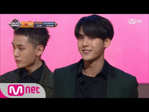 BTOB - Missing You KPOP TV Show  M COUNTDOWN 171026 EP.546