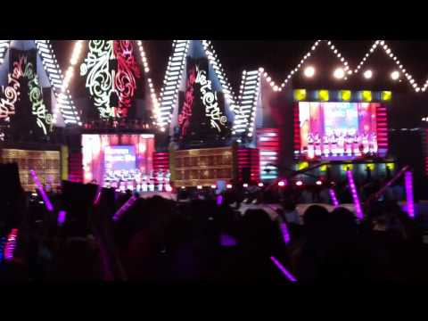 [fancam ] SNSD – MBC KOREAN MUSIC WAVE IN BANGKOK – Hoot & Oh!