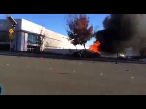 PAUL WALKER CRASH SCENE *HD* OFFICIAL