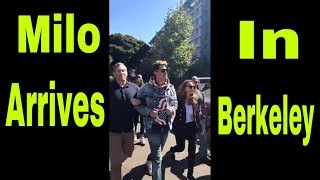 Milo Yiannopoulos ! Arrives in Berkeley! All hell breaks loose !
