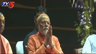 PM Modi At Roadshow In Varanasi Today Before Filing Nomination