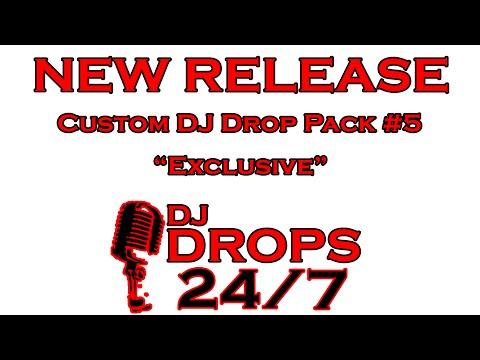 Custom DJ Drop Pack #5 - Exclusive   DJ Drops 247   Custom DJ Drops   Radio Imaging   Voice Over