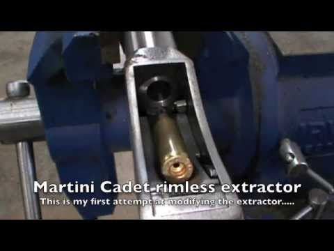 Martini Cadet rimless extractor / ejector.