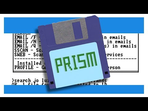 What would PRISM look like if it were made in the 1980s?
