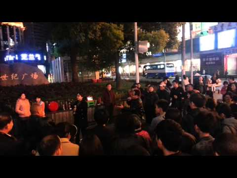 Shanghai street musicians