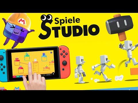 Programmieren leicht gemacht! Spielestudio für Nintendo Switch!