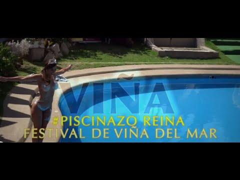 VIDEO HD : Piscinazo de Jhendelyn Núñez Reina del Festival de Viña del Mar 2015.