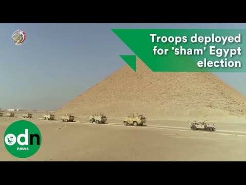 Thousands Of Troops Deployed For 'sham' Egypt Election