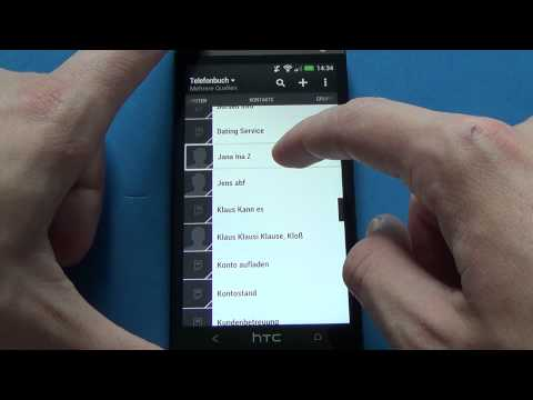 HTC One - Kontakte