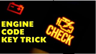 Engine Light? DODGE KEY TRICK Code Reader