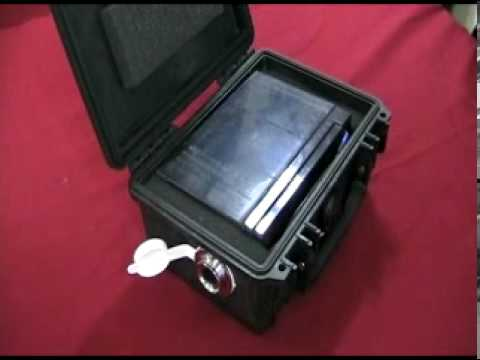 Kayak fishing battery box youtube for Battery powered fish finder