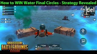 How to WIN Final Circles IN WATER - STRATEGY for Water Ending Games | PUBG Mobile Lightspeed