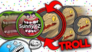 Agar.io - TROLLING TEAMS #5 (Agario Best Moments)