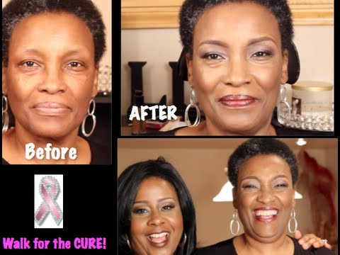 ebomy makeup for older women