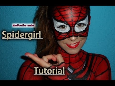 ✰ Spider-Girl Maquillaje ✰ / Spider-Girl tutorial ( Spider-man inspired)