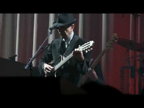 Chicago, New song,  Feels So Good,  Leonard Cohen, Rosemont Theatre, October 29th 2009 Music Videos