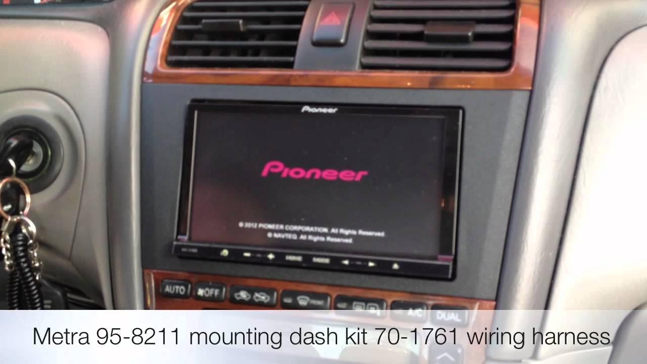 Pioneer Avic Z140bh Navigation Pandora Stereo 2000 Toyota