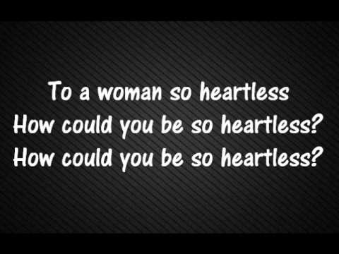 The Fray - Heartless Lyrics (by Kanye West) video