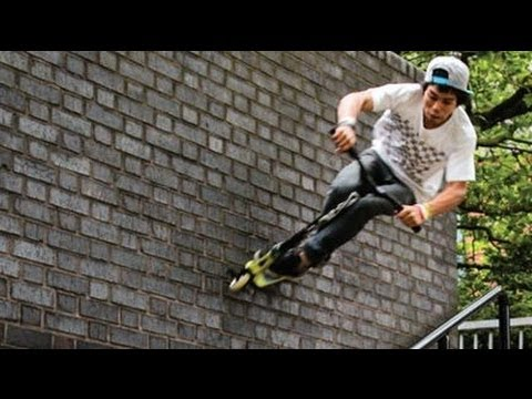 World's Best Street Scooter Tricks HD klip izle