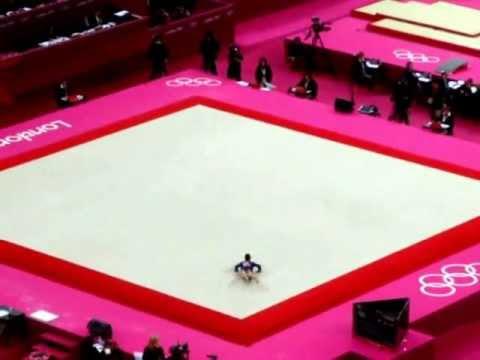 Aly Raisman - London Olympics 29th July 2012 @richmillett richardmillett.wordpress.com