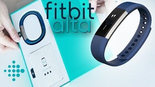 Fitbit Alta Unboxing & First Look - Fitness Band With Smart Watch Features