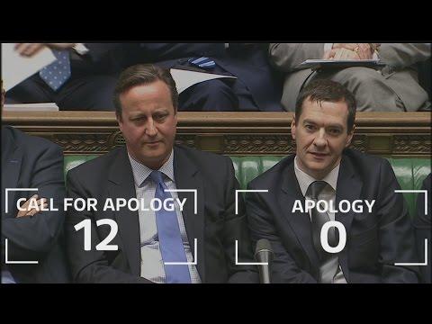 Syria vote: David Cameron ignores repeated calls to apologise