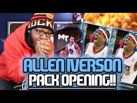 DIAMOND ALLEN IVERSON! THE GOAT Comes Home!! NBA 2K16 MyTEAM