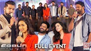 Saaho Pressmeet Chennai   Prabhas   Shraddha Kapoor   Arun Vijay   Sujeeth   Ghibran   UV Creations