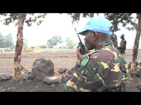 Intervention (FIB) Drill in Sake, D.R. Congo