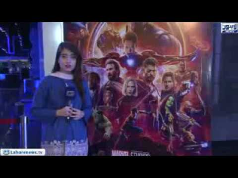 Hollywood film''Avengers Infinity War' the red carpet event at the cinema