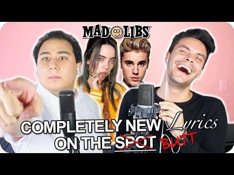"Billie Eilish & Justin Bieber - ""Bad Guy"" MadLibs Cover (LIVE ONE-TAKE)"