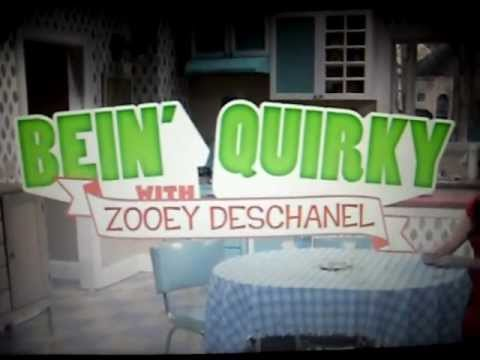 BEIN' QUIRKY with Zooey Daschanel