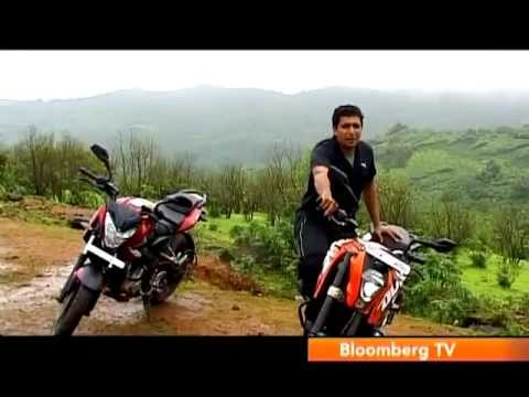 2012 Bajaj Pulsar 200NS Vs KTM 200 Duke   Comparison Test   Autocar India