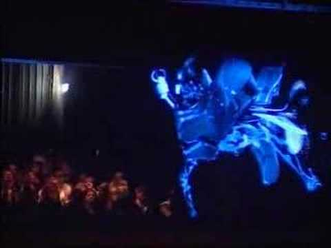 Diesel 'Liquid Space' Holographic Fashion Show - Part 2 Video