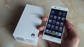 Смартфон Huawei Ascend P6. Вот это Китайцы! / Арстайл /