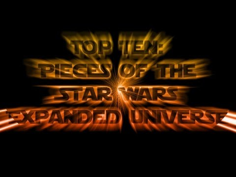 Top Ten Pieces of the Star Wars Expanded Universe