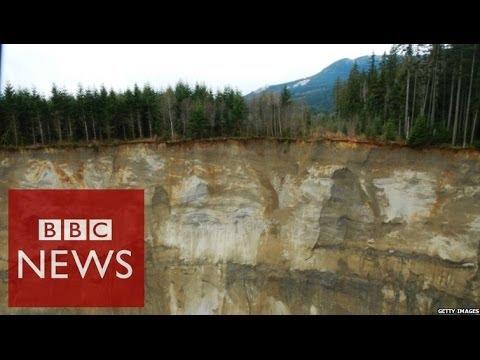 Washington State: Frantic call after landslide - BBC News